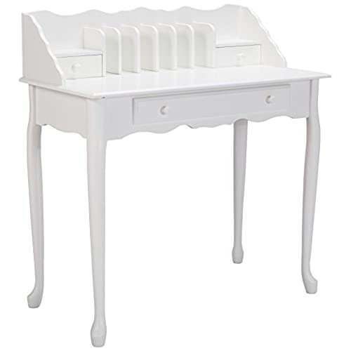 antique white desk 87955