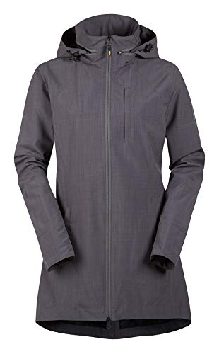 High Performance Raincoat - Kerrits, High Tail Rain Jacket, Platinum, M