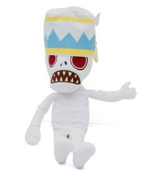 "Plants Vs Zombies 2 Series Plush Toy Treasure Yeti Snow Zombie 30cm/12"""
