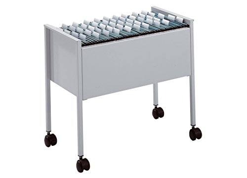 Durable Eco Suspension File Trolley For 80 A4 - Grey Black/Silver by Durable