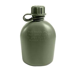 G. I. 1 Quart Olive Drab Plastic Canteen [Misc.]