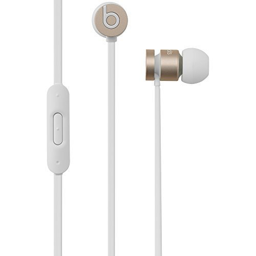 urBeats 2nd Gen Wired In-Ear Ear Bud Headphones By Dre - Gold MK9X2 (Renewed)