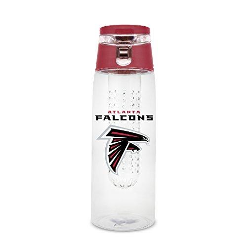 NFL Atlanta Falcons 20oz Plastic Infuser Sport Bottle