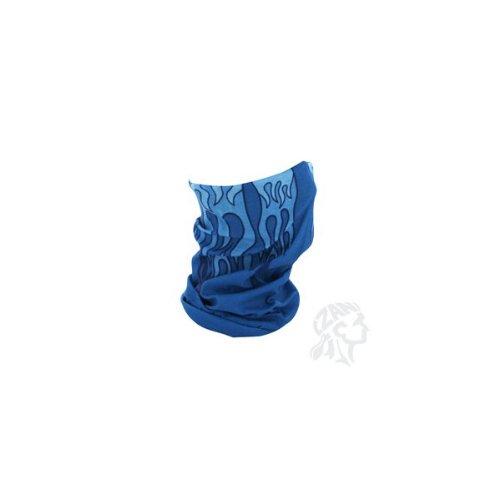 ZANheadgear Motley Tube, 100% Polyester, Blue