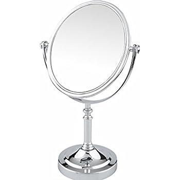 Amazon Com Pinkzio Double Sided Swivel Vanity Mirror