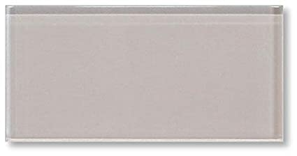 Sample Color Swatch Of Country Cottage Warm Off White X Glass - 3x8 tile backsplash