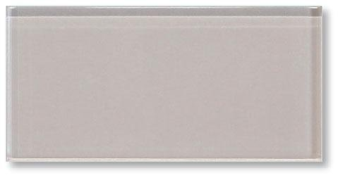 (Sample Color Swatch of Country Cottage Warm Off White 3x6 Glass Subway Tile for Kitchen Backsplash/Tub Surround from Rocky Point Tile)