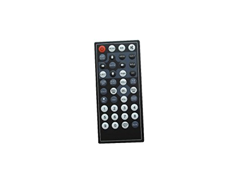 Hotsmtbang Replacement Remote Control for Power Acoustik PD-344BT PD-650B PD-710 PD-344 PD-712 DVD CD USB TV FM MP3 Player Bluetooth Car Stereo Receiver