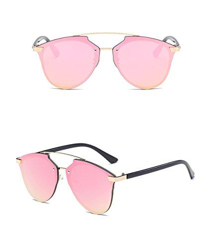mujer protecciónn Gafas sol de UV sol protección de de Color LYM 1 de de 100 de Gafas 6 personalidad amp;Gafas amp; moda de zqpgtO