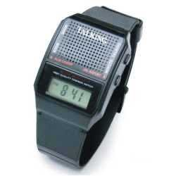 Talking Wrist Watch w/Alarm Easy to Hear and Easy to Set by Active Products Plus