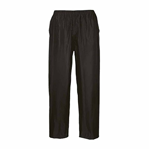 Portwest Waterproof Black Navy Yellow Classic Mens Pants Rain Black Over Trousers ErEq4Bn