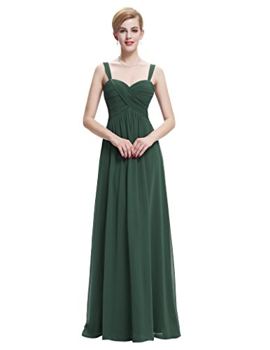Belle Poque Women's Formal Homecoming Dresses for Special Occasion Dark Green Size 2 ST65 from Belle Poque