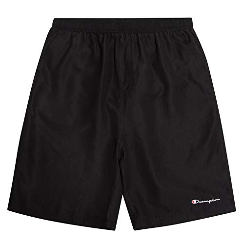 Champion Mens Big and Tall Swim Trunks with Classic Script Logo and Quick Dry Technology