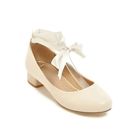 Beige Sandales Compensées AdeeSu Femme SDC05553 Tpq0A0