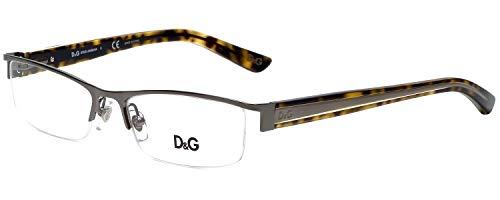 D&g Urban Dd5069 Eyeglasses 352 Gunmetal Demo Lens 52 16 135
