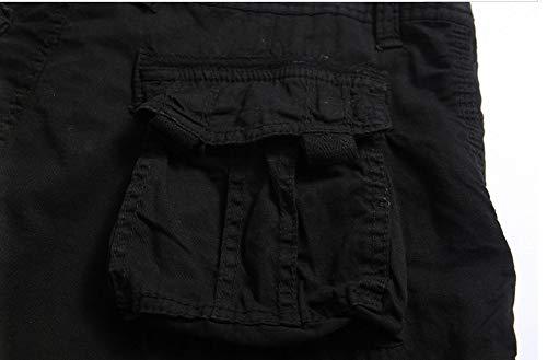 Delle Uomini Sacco Estate Pocket Festivo Giovani Cotone Moda Abbigliamento All'aperto Camo Dei Pantaloni Un Multi Di Bicchierini Shorts Strumenti Merci Degli Alla Schwarz R8FIqwnd