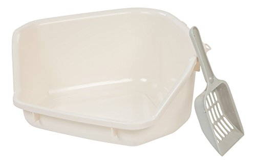 IRIS Small Animal Litter Pan, White