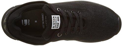 G-star Damen Grount Sneaker Schwarz (zwart 990)