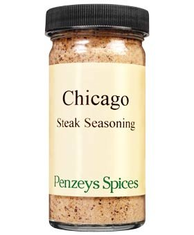 Amazon com : Chicago Steak Seasoning By Penzeys Spices 3 6