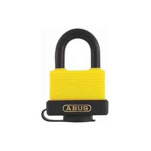 Abus 70/45 KA Yellow Weatherproof Padlock, Keyed Alike (KA)