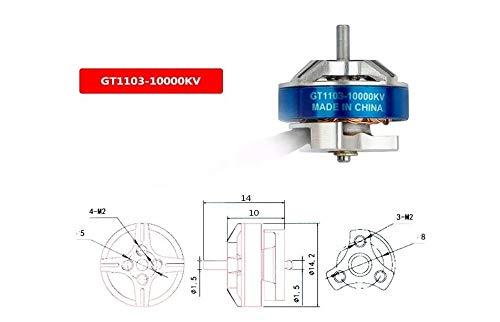 XuBa Kingkong//LDARC GT1103 1103 10000KV 2S Brushless Motor for Tiny GT8 2019 V2 FPV Racing Drone 3.8g