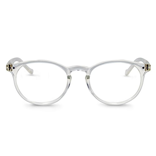 In Style Eyes Flexible Readers, Super Comfortable Lightweight Reading Glasses Shiny Clear +1.00 ()