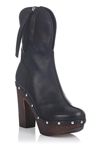 Laura Moretti Femmes Ankel-bottes Ilia Noir