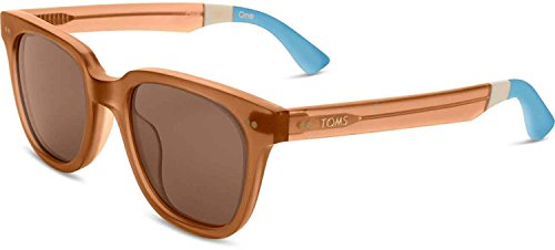 TOMS Unisex Memphis 201 Ash Brown Crystal - Parts Name Of Sunglasses