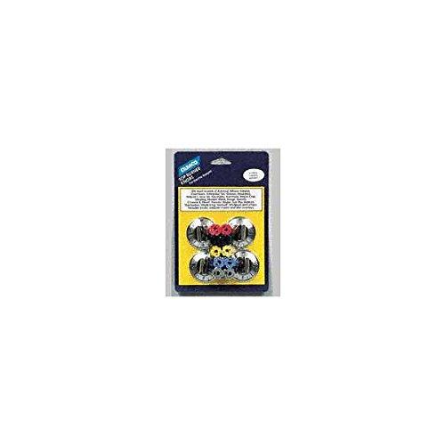 Black Elect Range Burner Knob ()