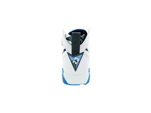 Jordan Air 7 Retro Bg Niños Zapatillas 304774-034 Blanco / Frnch Bl / Unvrsty Bl / Flnt G