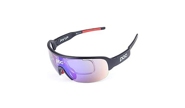 Senderismo OPEL-R Elegante paseo en bicicleta al aire libre con gafas polarizadas/Material TR90 resistente a las gafas deportivas de impacto/Contiene cinco lentes ...