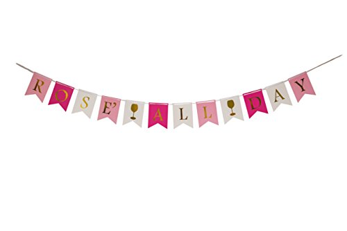 ROS� ALL DAY Banner- Perfect brunch party decorations, bachelorette party decorations, birthday party decorations, bros� party decorations and any other celebrations