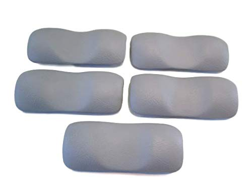 Leisure Bay Spa Hot Tub Neck 5 Pillow Set LBI Gray Head Rest Video How To