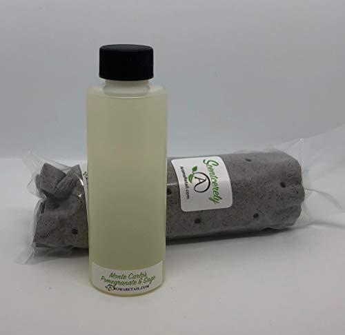 Aroma Retail 4 oz Fragrance Oil Refill - Pomegranate & Sage, Experienced at Monte Carlo Hotel Las - Vegas Monte Carlo Las