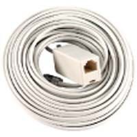 Jasco Line Cord - GE 26164 Line Cord with Coupler (25 Feet, Ivory)