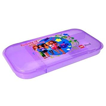 Lego Friends - Caja para guardar piezas, color purpura ...
