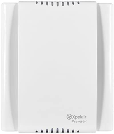 Xpelair Premier 91040AW  LVDX200T Toilet//Bathroom Low Voltage Centrifugal Extractor Fan with Timer white