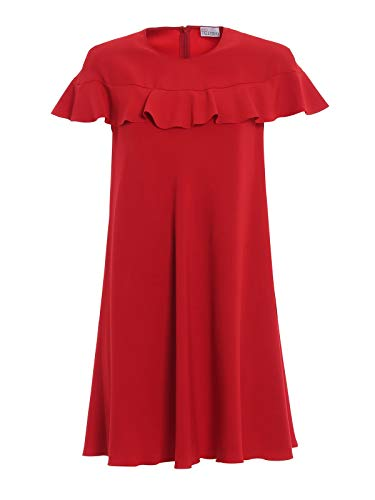 Red Valentino Women's Rr3vab150f1d05 Red Acetate Dress for sale  Delivered anywhere in Canada