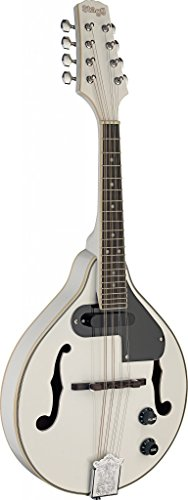 Stagg M50 E WH Acoustic-Electric Bluegrass Mandolin - White by Stagg