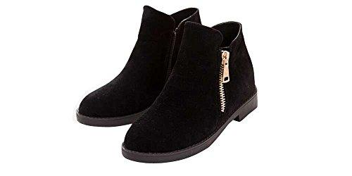 ed545248e6c7 Top Moda Women s La-5 Slip-On Low Heel Ankle Boot - Import It All