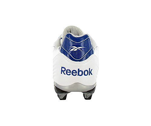 Reebok NFL Pro Burner SPD III Low SD3 Men's Cleats (11.5, White/Dark Royal)
