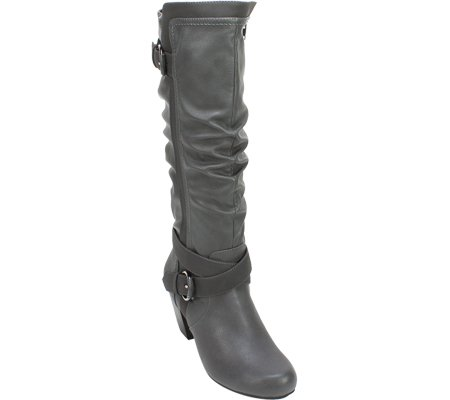 Synthetic Smooth Grey Rialto Boot 'CRYSTAL' Women's w6qB8SvC