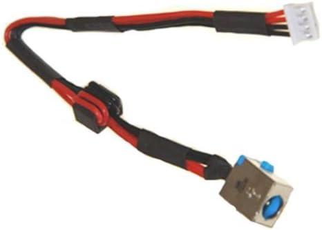 DC power jack charging port cable harness for GATEWAY NEW95 NV55C52U NV55C53U