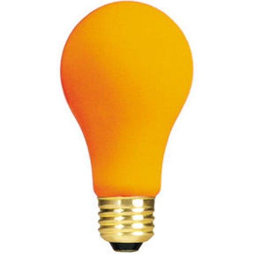Bulbrite 106560 60W Ceramic Orange A19 Bulb (Bulb Ceramic Orange)