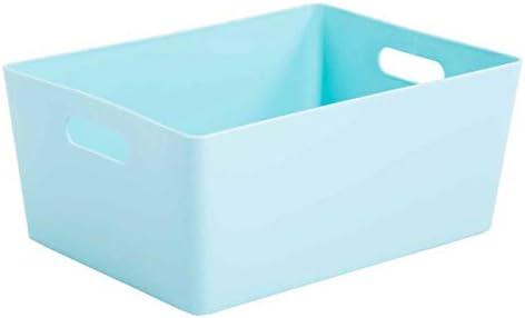 6 x WHAM 5.02 Rechteckig Aufbewahrungsbox - Korb - 35 x 26 x 15 cm - Eisweiß