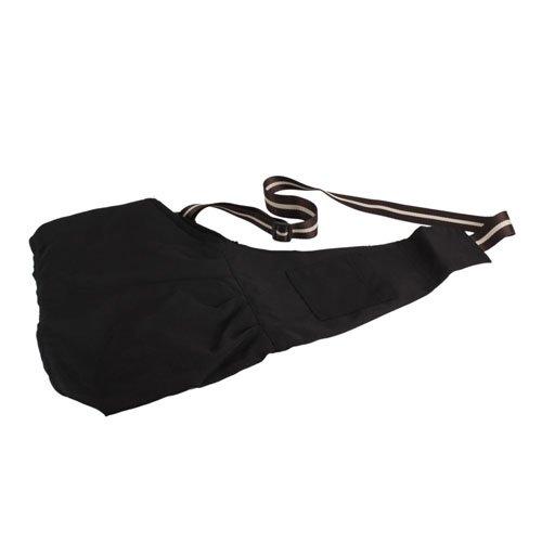 S-size Pet Dog Carrier Single-shoulder Bag Oxford Cloth Black, My Pet Supplies