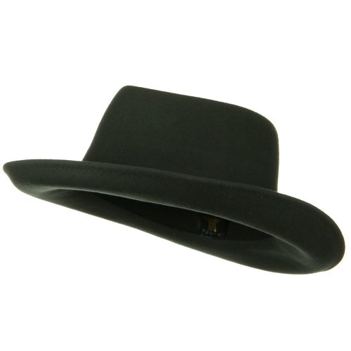 (SS/Hat Women's Gambler Felt Hat- Grey OSFM)
