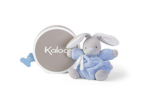 Kaloo - Coleccion Plume Conejito Blando Gordinflon de peluche 18 cm, Azul (K969559)