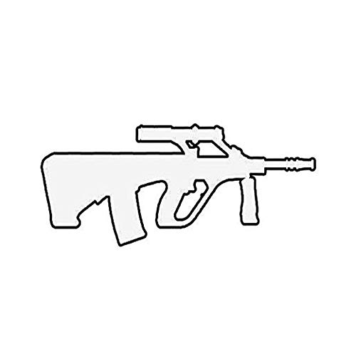 Ross Stores AUG Steyr AUG A1 - Sticker Graphic - Auto, Wall, Laptop, Cell, Truck Sticker for Windows, Cars, Trucks