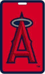 Luggage Tag Angels (Los Angeles Angels - MLB Soft Luggage Bag Tag)